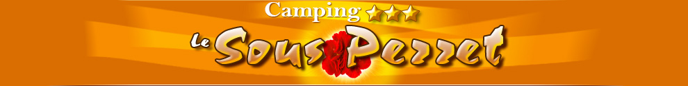 Camping le Sous Perret Logo